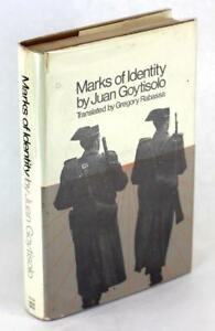 First Edition 1969 Marks of Identity Juan Goytisolo Gregory Rabassa Hardcover DJ