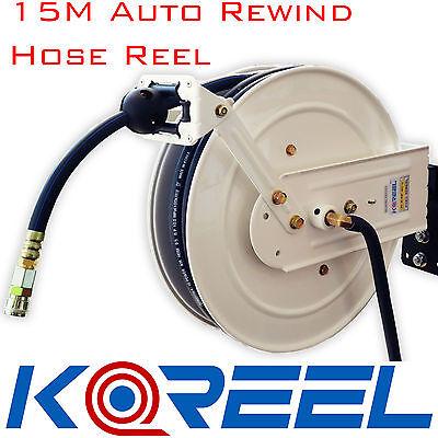 15 Meter Koreel Air Hose Reel Spring Rewind