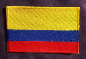colombia flag patch colombian flag bogotá embroidered sew iron ebay