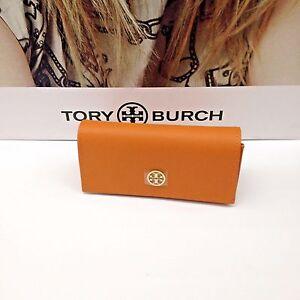 b6caa94b80b1 Image is loading NEW-Tory-Burch-Original-Orange-Sunglasses-Case-Eyeglass-