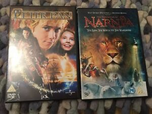 Peter-Pan-DVD-2004-amp-The-Chronicles-Of-Narnia-DVD