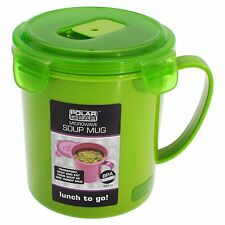 Polar Gear 1-Piece 685 ml Polypropylene Microwaveable Soup Mug, Green