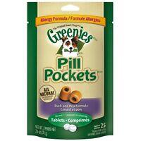 Greenies Pill Pockets Treats For Dogs Allergy Formula