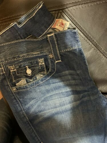 true religion jeans mens 34 Straight