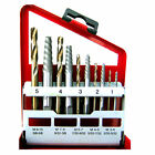 10pc Screw Extractor | Right Hand Cobalt Drill Bit Set Easy Out Broken Bolt