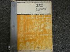 Case 484d 485d 486d Construction King Forklift Lift Truck Parts Catalog Manual