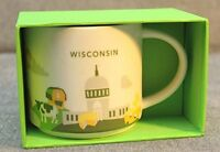 Starbucks Wisconsin Mug You Are Here Collection, New, Free Shipping on Sale