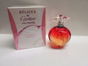 0d3cd464cd7 Delices De Cartier Eau Fruitee By Cartier 1.6 oz  50 ML Women s Eau ...