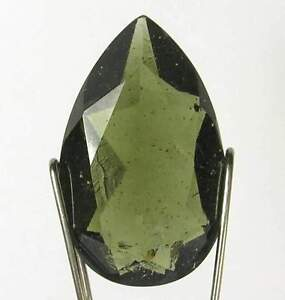 3-6-Ct-MOLDAVITE-TEKTITE-Teardrop-Cut-AA-GEMSTONE-VIVID-INCLUSIONS-and-BUBBLES