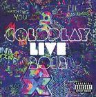 Live 2012 [PA] by Coldplay (CD, Nov-2012, 2 Discs, EMI)