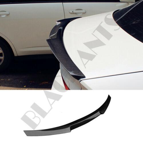 Real Carbon Fiber Rear Wings Spoiler Refit For Jaguar XF 2015-2018