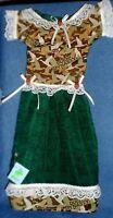 Handmade Duck Dynasty Green Oven Door Dress Kitchen Hand Towel 381