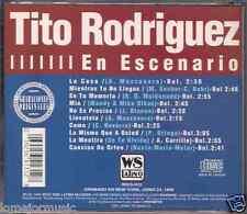 RARE cd SALSA Tito Rodriguez EN ESCENARIO la casa LLEVATELA lo mismo que a usted