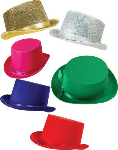 Adult Unisex Hen Night Fancy Dress Party Clubwear Accessory Celebrity Top Hat UK