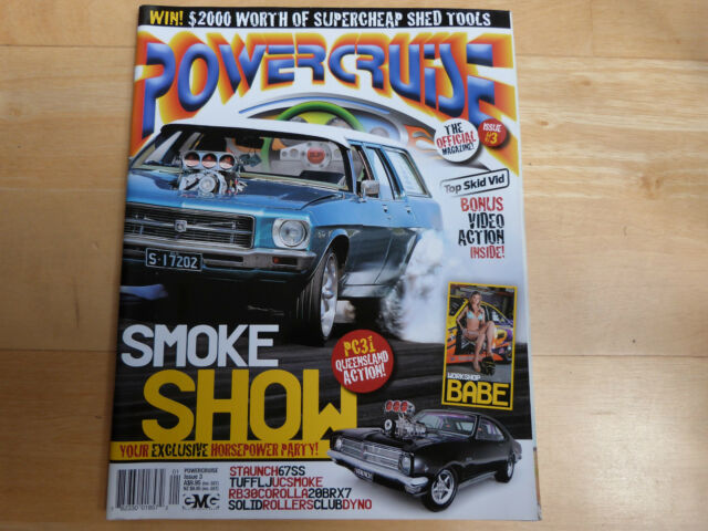 POWERCRUISE CAR MAGAZINE #3 - POSTER INCLUDED