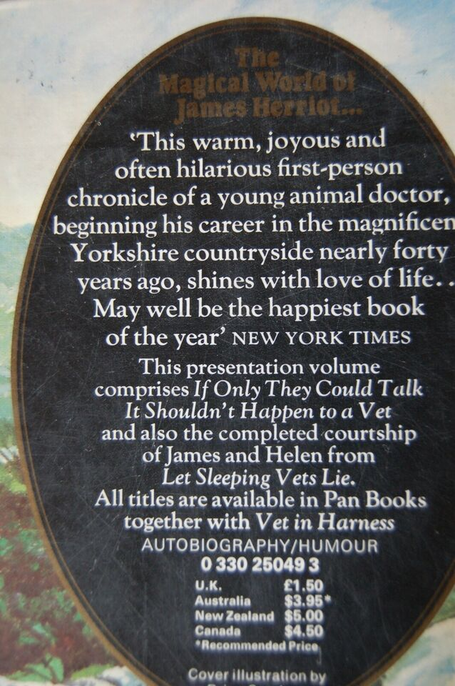 All Creatures Great and Small, James Herriot, genre: roman