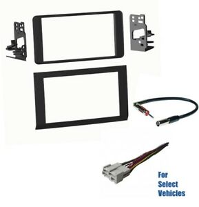 Details about Double Din Car Radio Dash Kit Combo for 1996-2005 Chevrolet on