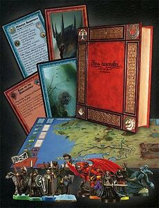 War Of The Anneau Collector's Edition Limitée,jeu De Société,peint Figurines,new