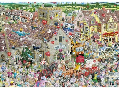 Gibsons I love mariage 1000 Piece Jigsaw Puzzle Neuf G7095