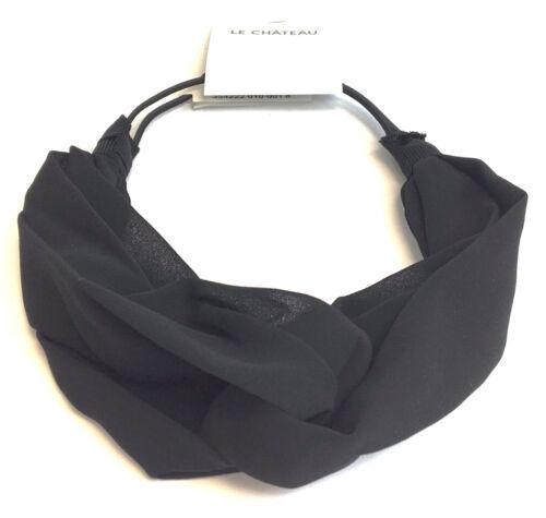 D31431 Le Chateau Black Women/'s Headband