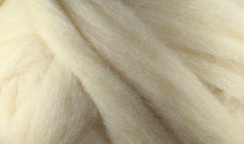 Pale Yellow Wool Roving 1oz