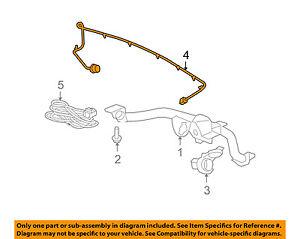 gm oem trailer hitch-rear bumper-wire harness 25910884 | ebay  ebay