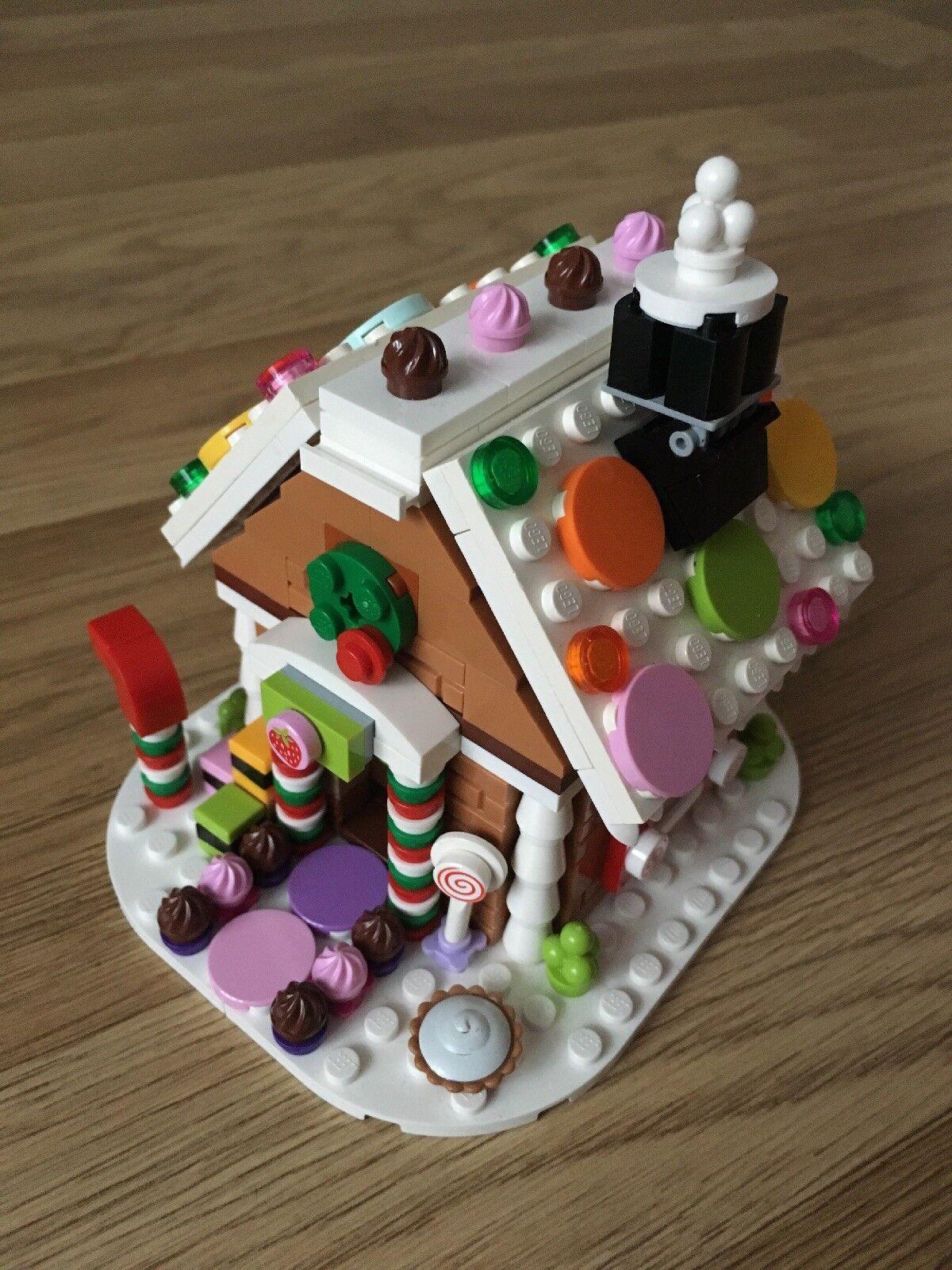 LEGO 40139-casa natalizia Pan di Zenzero-edizione limitata 2015
