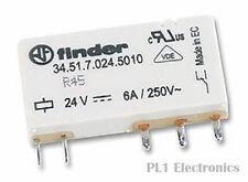 FINDER 34.51.7.024.5010 Usage Général Relais, 34 Séries, SPDT, 24 VDC, 6