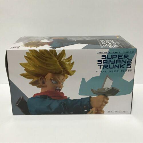 Dragon Ball Super SS2 Trunks figure Banpresto Japan Authentic Final hope slash
