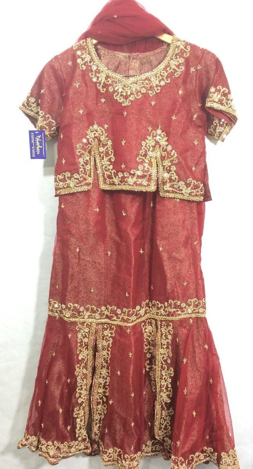 INDIAN PAKISTANI shaadi wedding lehanga Shalwar Trouser Kameez suit Asian Dress