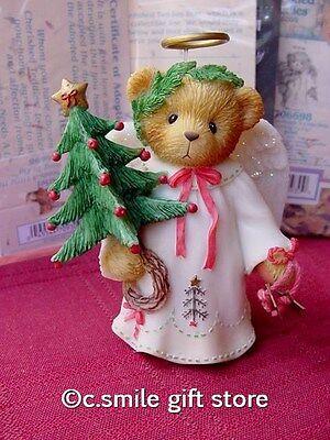 Cherished Teddies *ARIEL* #706698 LE 2000 Dated Christmas Angel Figurine MIB Ret