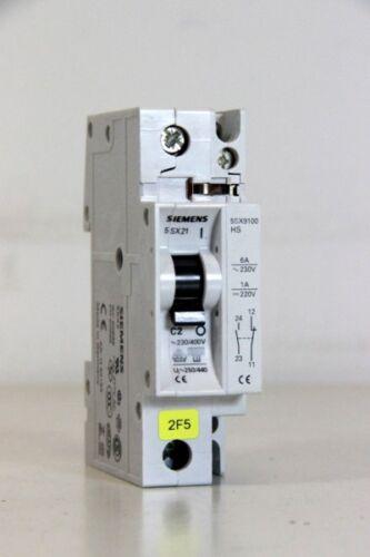 Leitungsschutzschalter Hilfsschalter 5SX9100 1 bis 10A SIEMENS 5SX21 B//C
