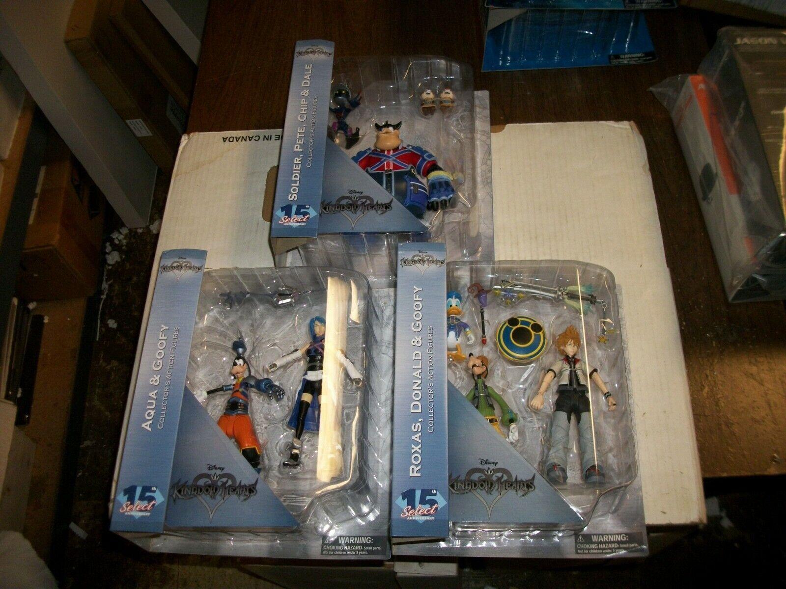 Diamond Select Kingdom Hearts COMPLETE SERIES 2 Action Figure Set NEW