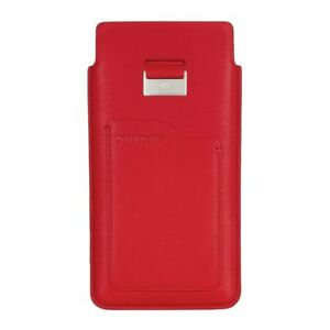 Beyzacases-Genuine-Leather-Natural-ID-Slim-Strap-Case-for-Sony-Xperia-Z5-Red