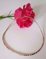 Collier Kette 925 Silber vergoldet Bicolor necklace Silver gold plated cm TOP