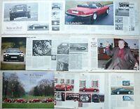 Literatur Publicité Reports Jaguar XJR-S XJ-S Lister Arden Cabriolet 6.0 5.3