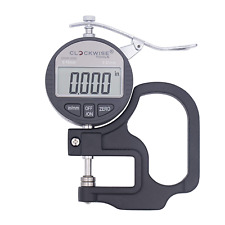 Clockwise Tools Dtnr 0055 Electronic Digital Dial Thickness Gauge 0 04 000005