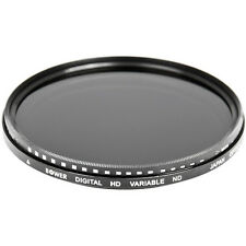 Bower 58mm Variable Neutral Density ND Filter, 2 to 8 Stops  FN58