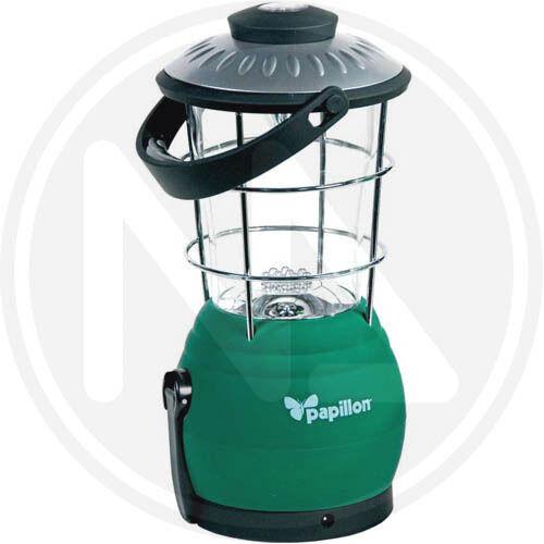 LANTERNA LAMPADA A DINAMO DA CAMPEGGIO CAMPING 12 LED BUSSOLA BASE GOMMA 92922