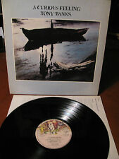 TONY BANKS (Genesis) A curious feeling - LP- Charisma- made in Italy- 1979-testi