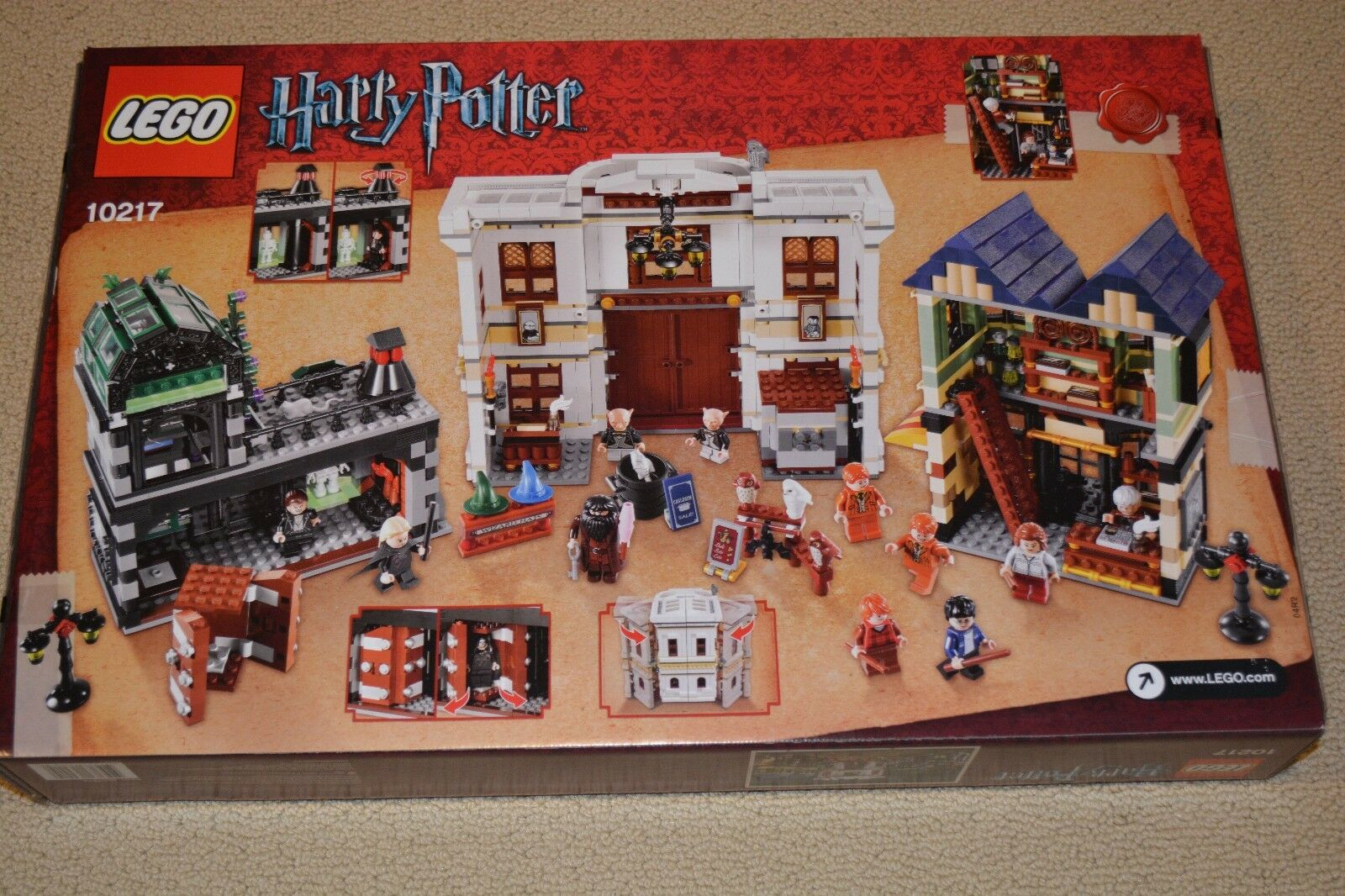 LEGO 10217 HARRY POTTER DIAGON ALLEY - - - BRAND NEW, FACTORY SEALED  9f26be
