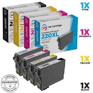 LD-4pk-for-Epson-220-XL-T220XL-Ink-Cartridges-Expression-XP-320-XP-420-XP-424