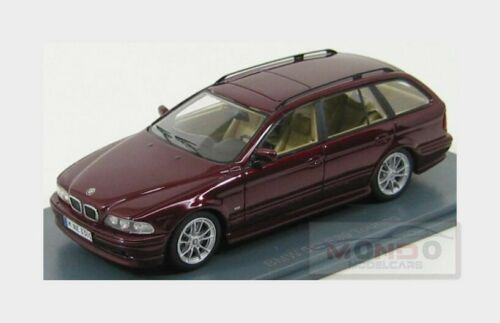 E39 Bmw 5-Series 530D Touring 2002 Red Met NEOSCALE 1:43 NEO43301