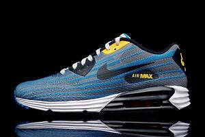 best website 5d125 09652 Nike Air Max LUNAR 90 JCRD JACQUARD 11.5 654468-001 NIKELIGHT ASH  GREY BLK-BLK-