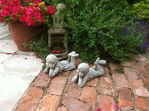Nuovo home garden small stone ragazzo e ragazza for Ornamenti giardino