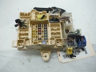 2003 LEXUS IS300 INTERIOR UNDER DASH FUSE BOX PANEL RELAY ...