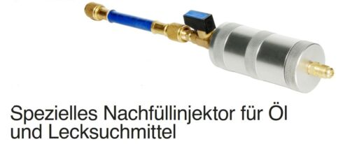 Nachfüllinjektor inyector valvulina clima petróleo y tela UV lecksuchmittel