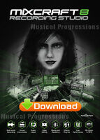 Mixcraft 8 Recording Studio - Audio Music Software - Digital - Windows -