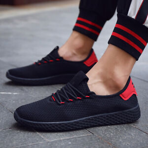 Men-039-s-Fashion-Sneakers-Casual-Running-Shoes-Breathable-Mesh-Athletic-Walking-US
