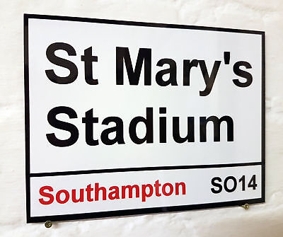 Leicester kings power Stadium Metal Street Sign 2 Sizes Available football